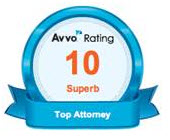 Avvo Rating 10 Superb - Top Attorney
